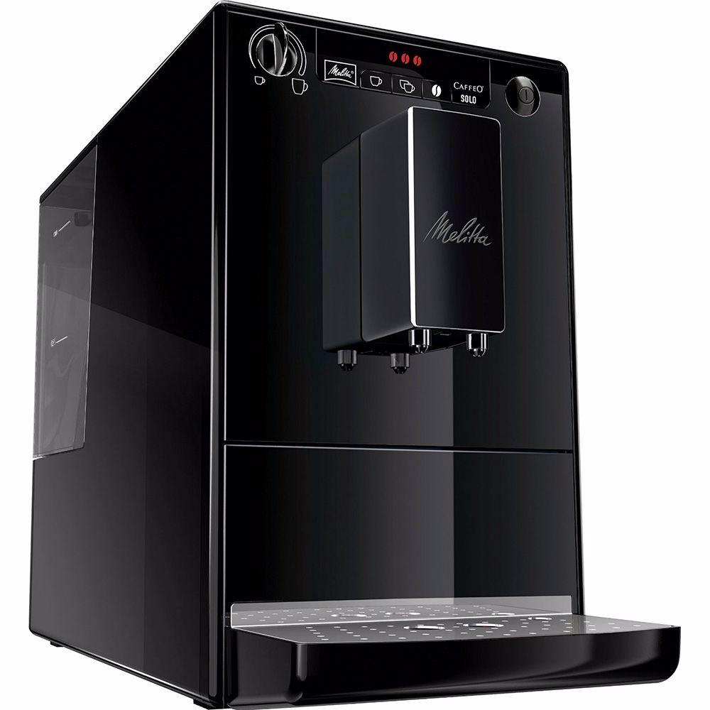 Melitta espresso apparaat Caffeo Solo zwart w/o chrome E950-222