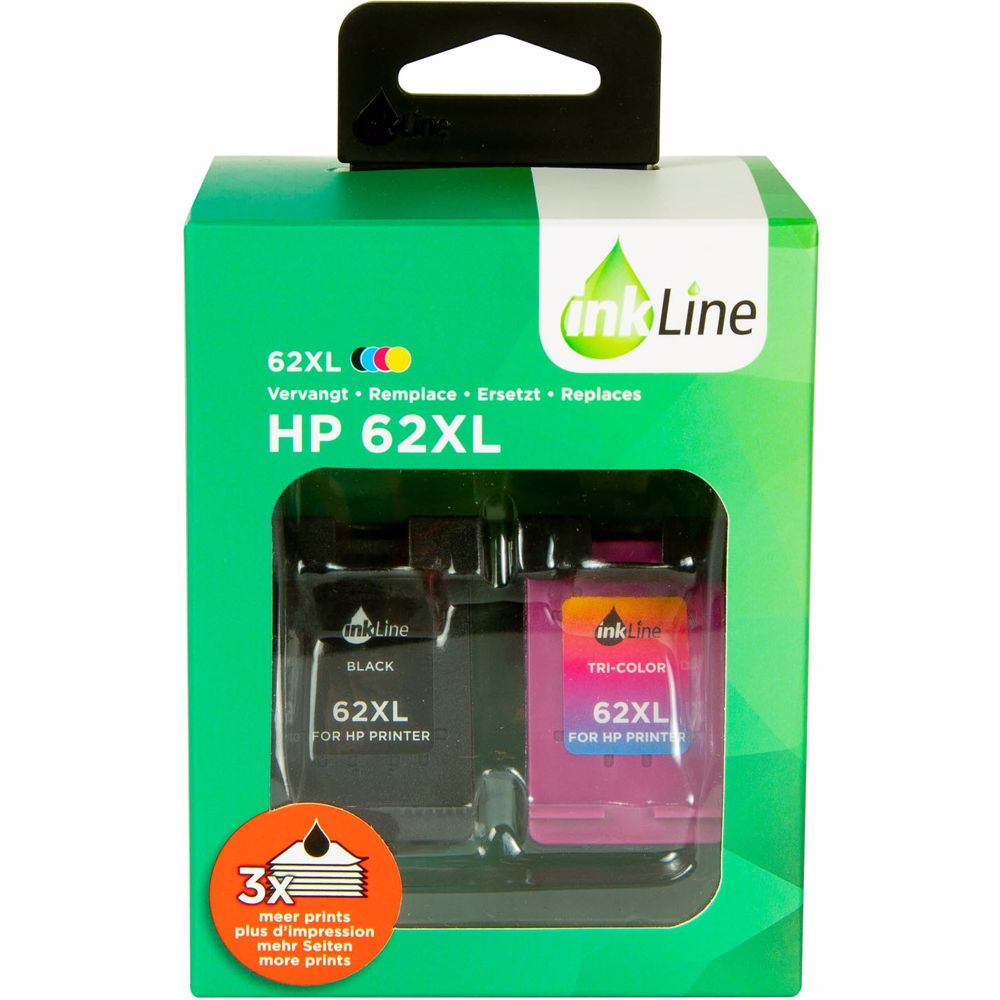 Inkline cartridge INH62BKCMY