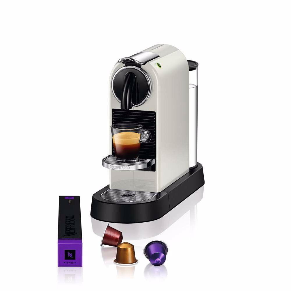 Nespresso Magimix koffieapparaat CitiZ M196 (Wit)