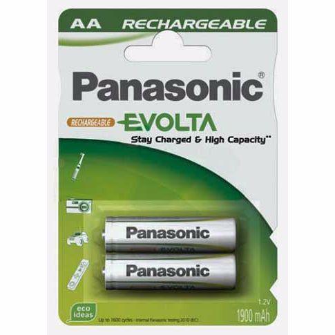 Panasonic batterijlader EVOLTA AA X2