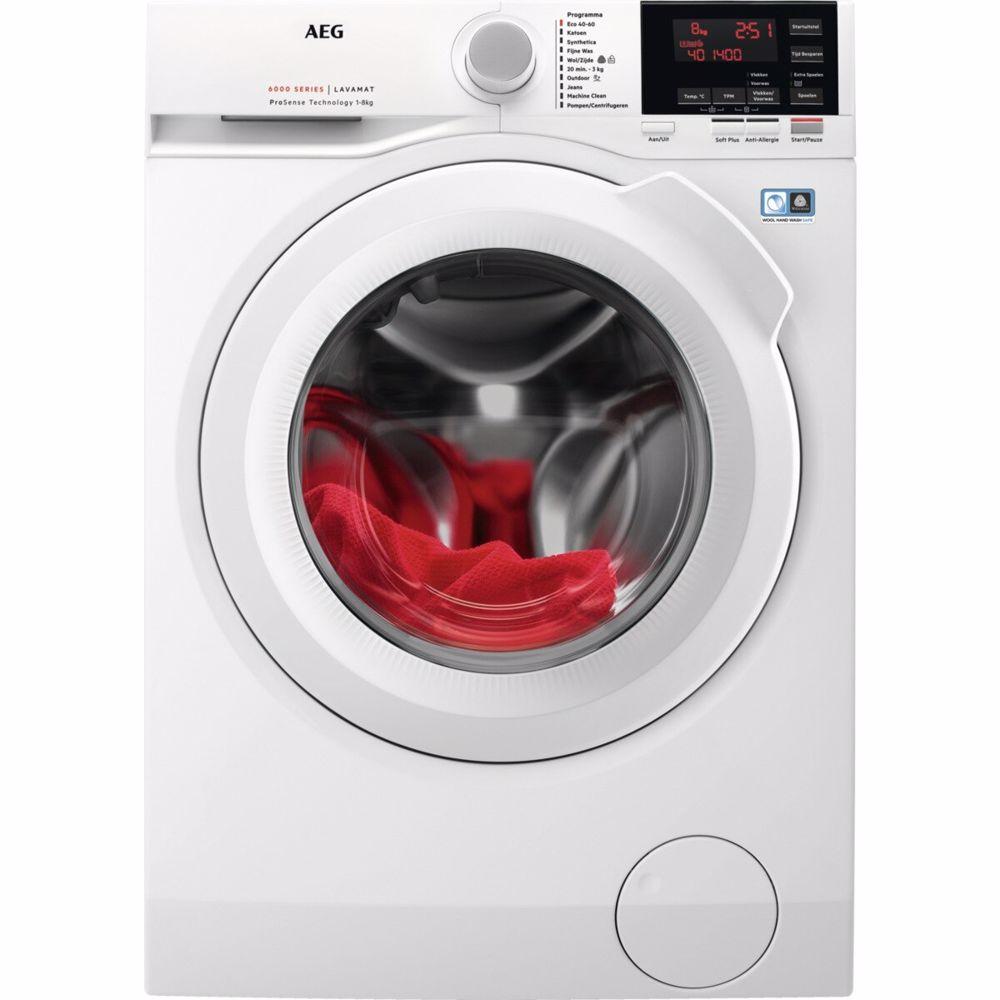 AEG ProSense wasmachine L6FB84GW
