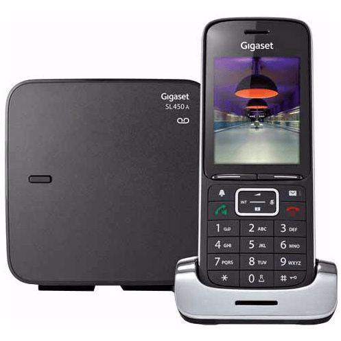 Gigaset DECT telefoon SL450A (Zwart)