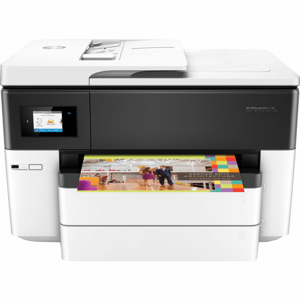HP all-in-one printer OFFICEJET PRO 7740