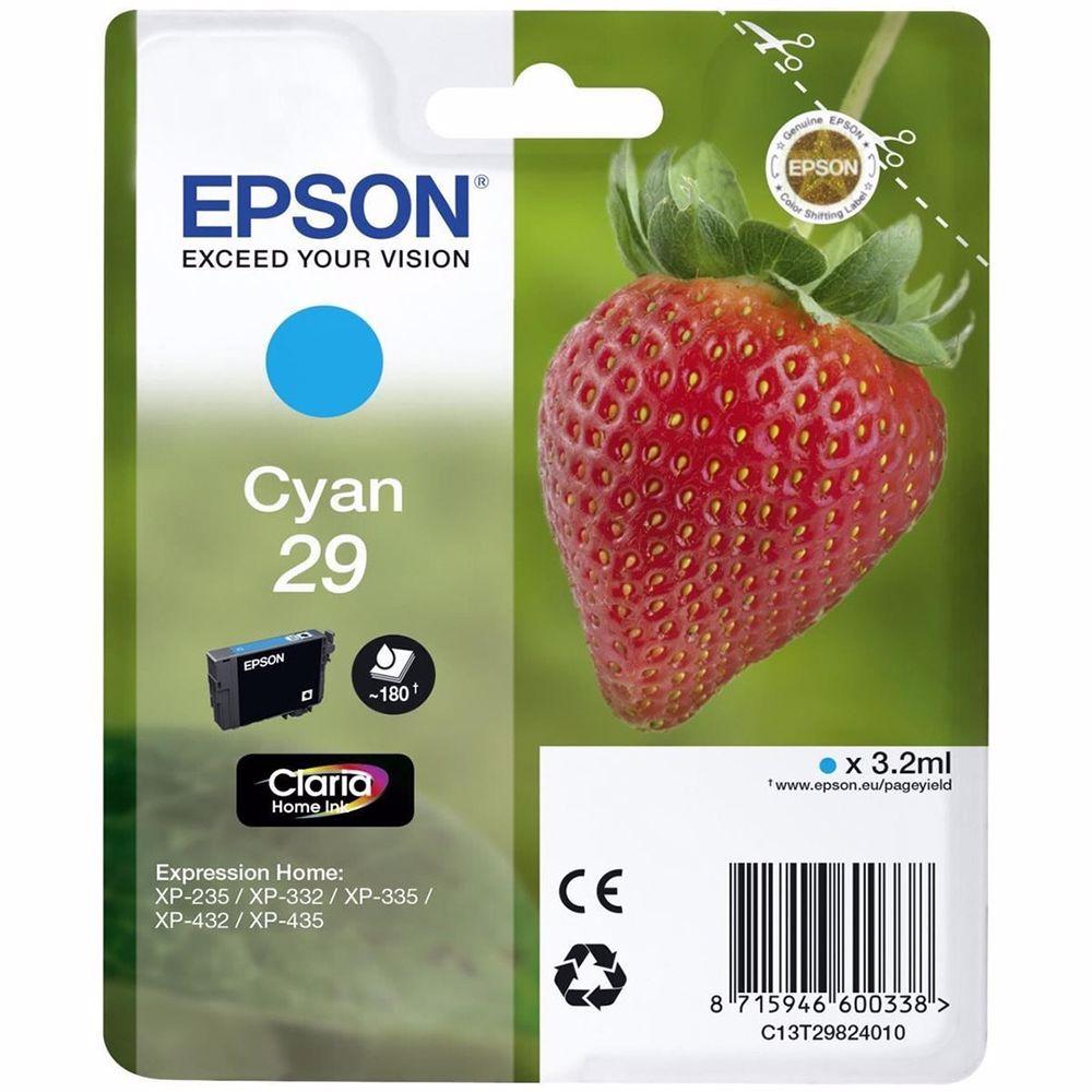 Epson cartridge CYAN T2982