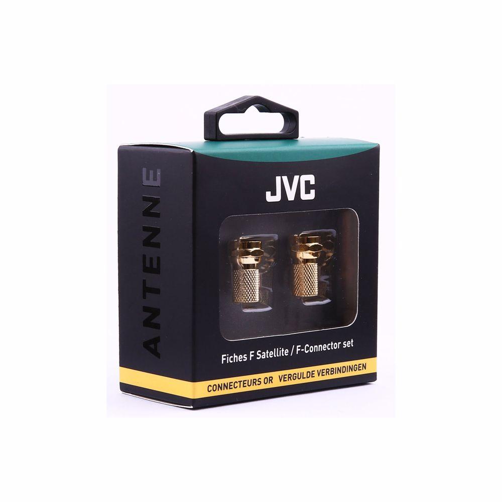 JVC antennekabel SATELLITE COAXIAL ADAPTOR MALE/FEMALE X 2 + PROTEC