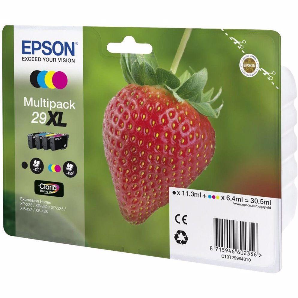 Epson cartridge AARDBEI 4CL XL T2996