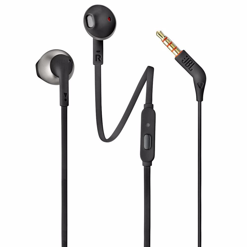 JBL in-ear hoofdtelefoon Tune 205 T205 (Zwart)