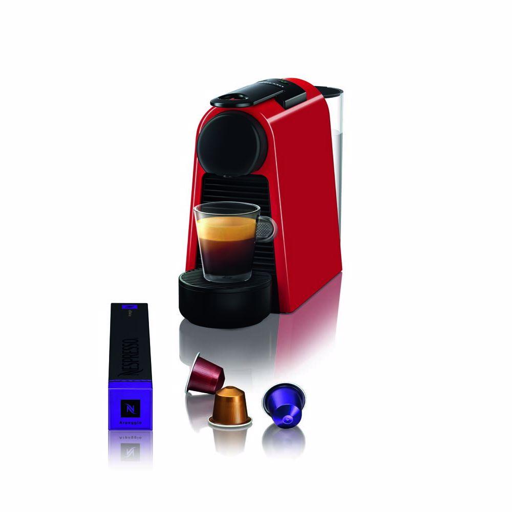 Nespresso Magimix koffieapparaat Essenza Mini M115 (Rood)
