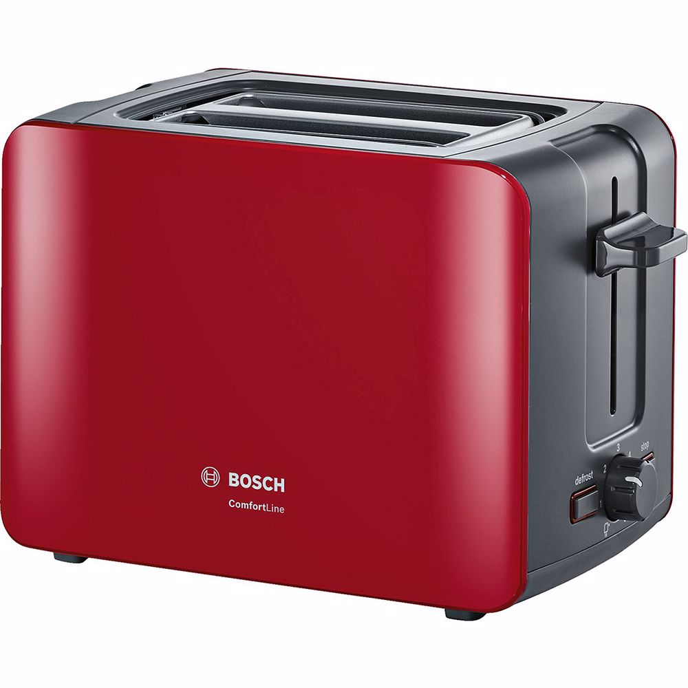 Bosch broodrooster ComfortLine TAT6A114 (Rood)