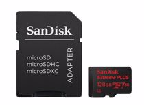 Sandisk micro SD geheugenkaart MSD EXT PLUS 128GB