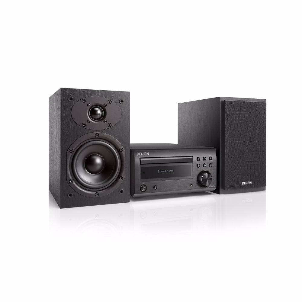 Denon microset D-M41 DAB+ (Zwart/Zwarte speakers)