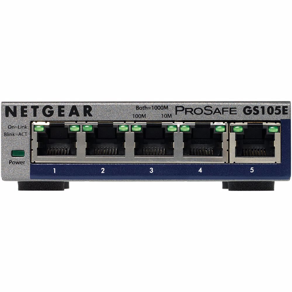 Netgear netwerk switch GS105E