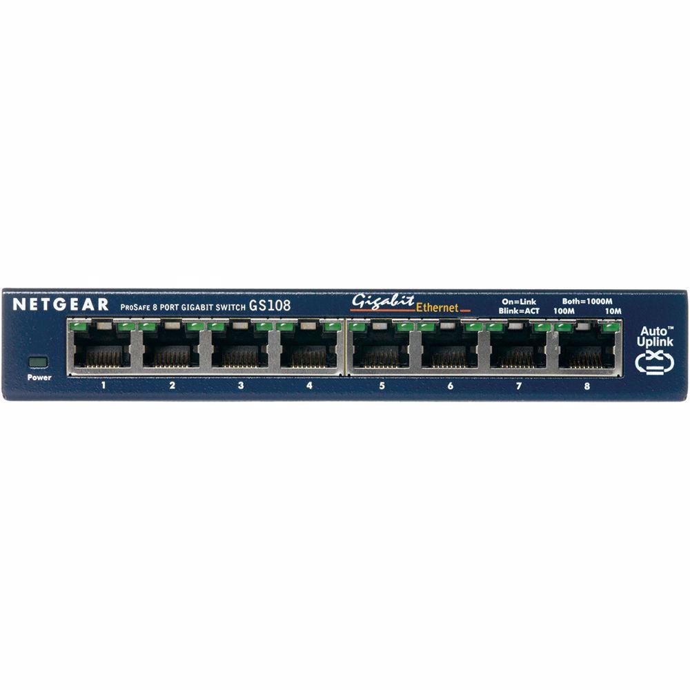 Netgear netwerk switch GS108GE
