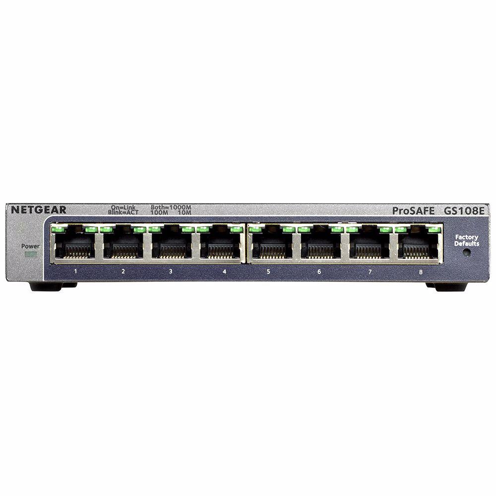 Netgear netwerk switch GS108E-300PES