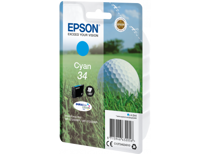 Epson cartridge Golfbal T3464 (Cyaan)
