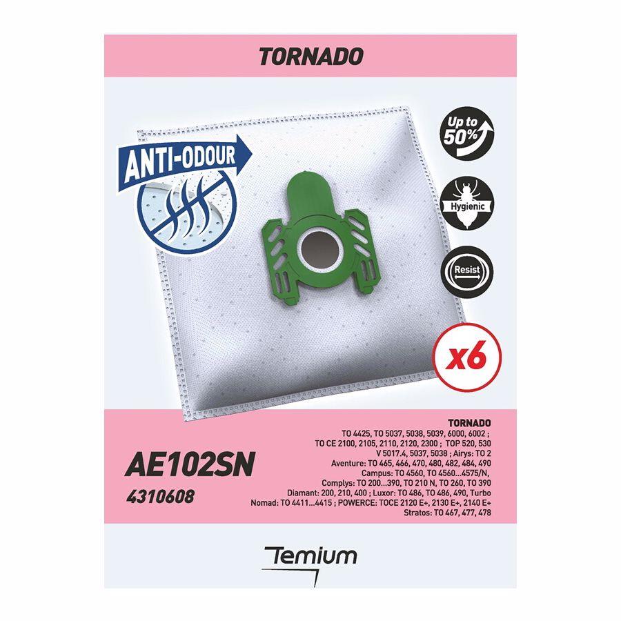 Temium stofzuigerzakken A AE102SN 6 stuks - AEG