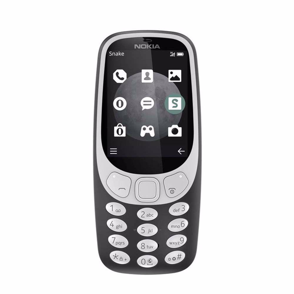 Nokia mobiele telefoon 3310 3G (Grijs)