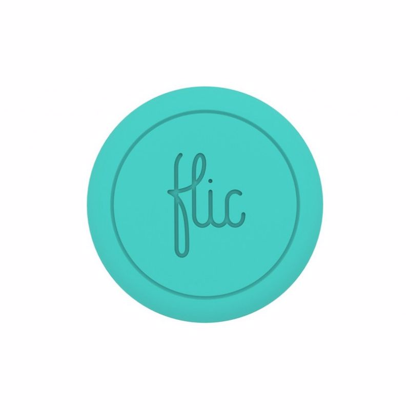 Flic draadloze smartknop Button (Turquoise)