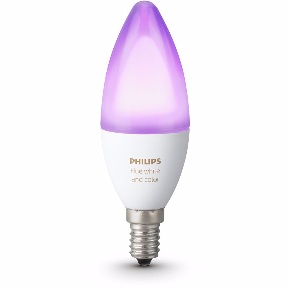 Philips Hue sfeerverlichting White & Color Ambiance E14