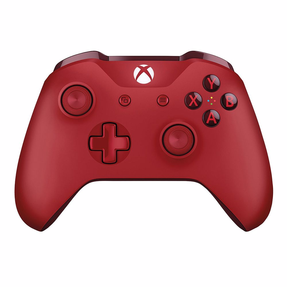 Xbox One Red draadloze controller (Rood)