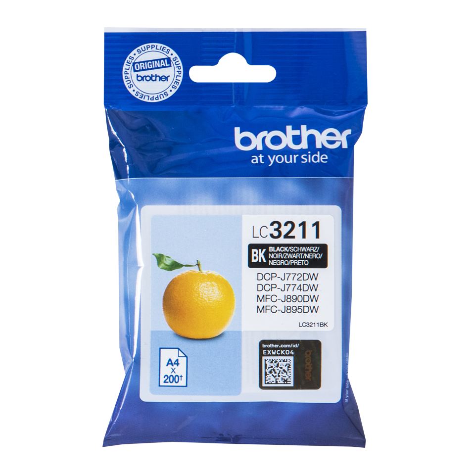 Brother cartridge LC3211 BLACK