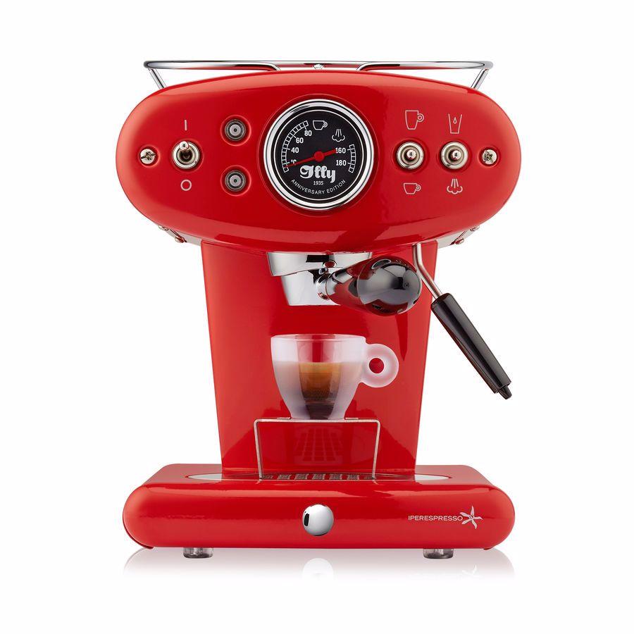 illy espressomachine X1 Anniversary Espresso & Coffee (Rood)