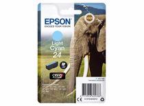 Epson cartridge  24 Claria Photo HD Ink (Licht cyaan)
