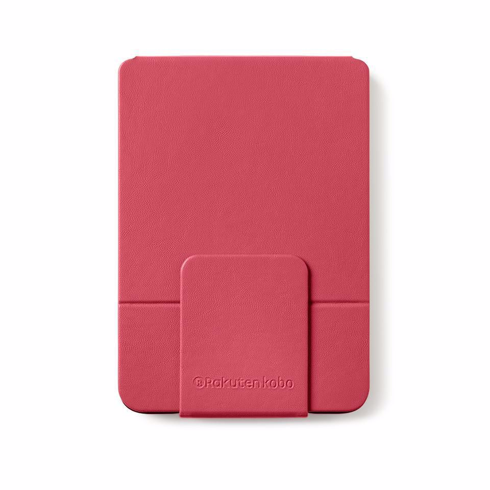 Kobo e-reader beschermhoes KOBO CLARA HD ROSE RED SLEEPCOVER