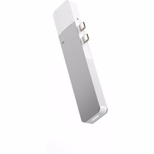 Hyper Net hub voor USB-C Macbook pro (Zilver)