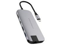 Hyper Slim USB-C Hub (Grijs)