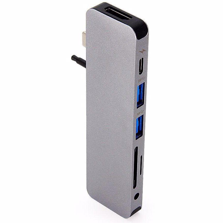 Hyper Solo USB-C hub (Grijs)