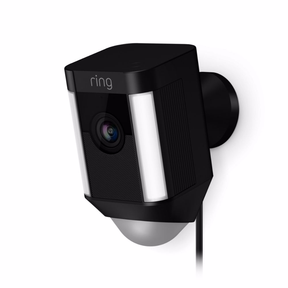 Ring IP camera Spotlight Cam Bedraad (Zwart)