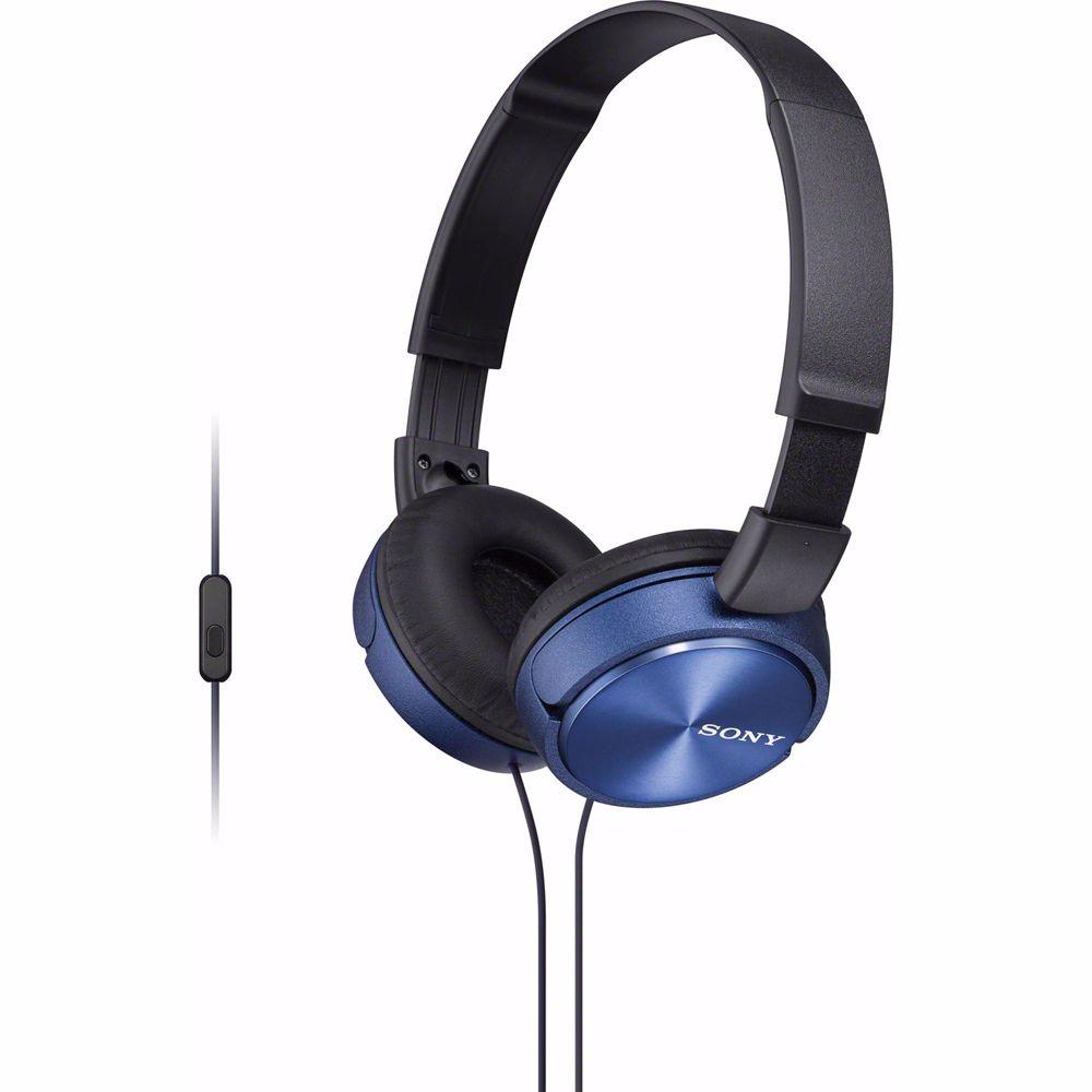 Sony koptelefoon MDRZX310APL (Blauw)