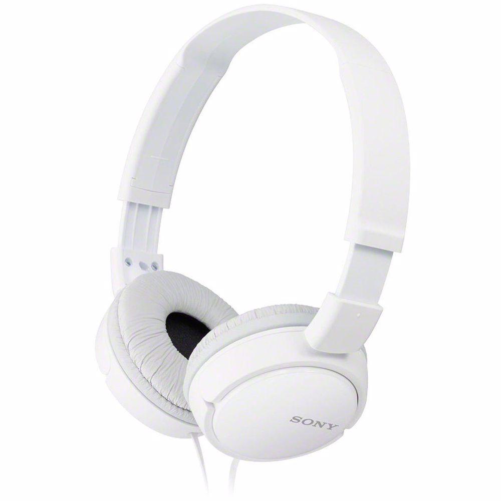 Sony on-ear hoofdtelefoon MDRZX110W (Wit)