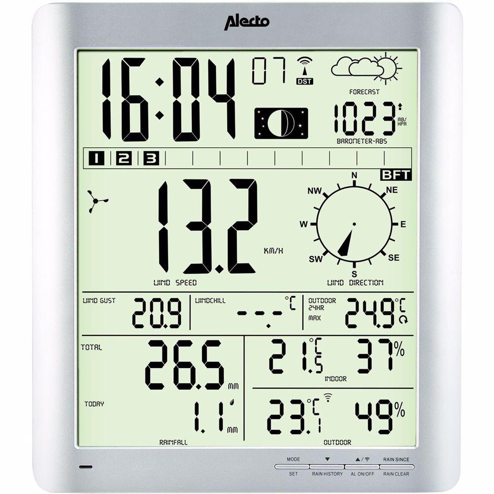 Alecto weerstation WS-3800