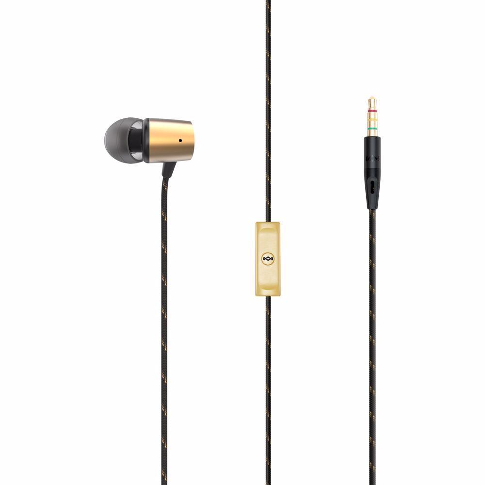 House of Marley in-ear hoofdtelefoon UPLIFT 2 (Goud)