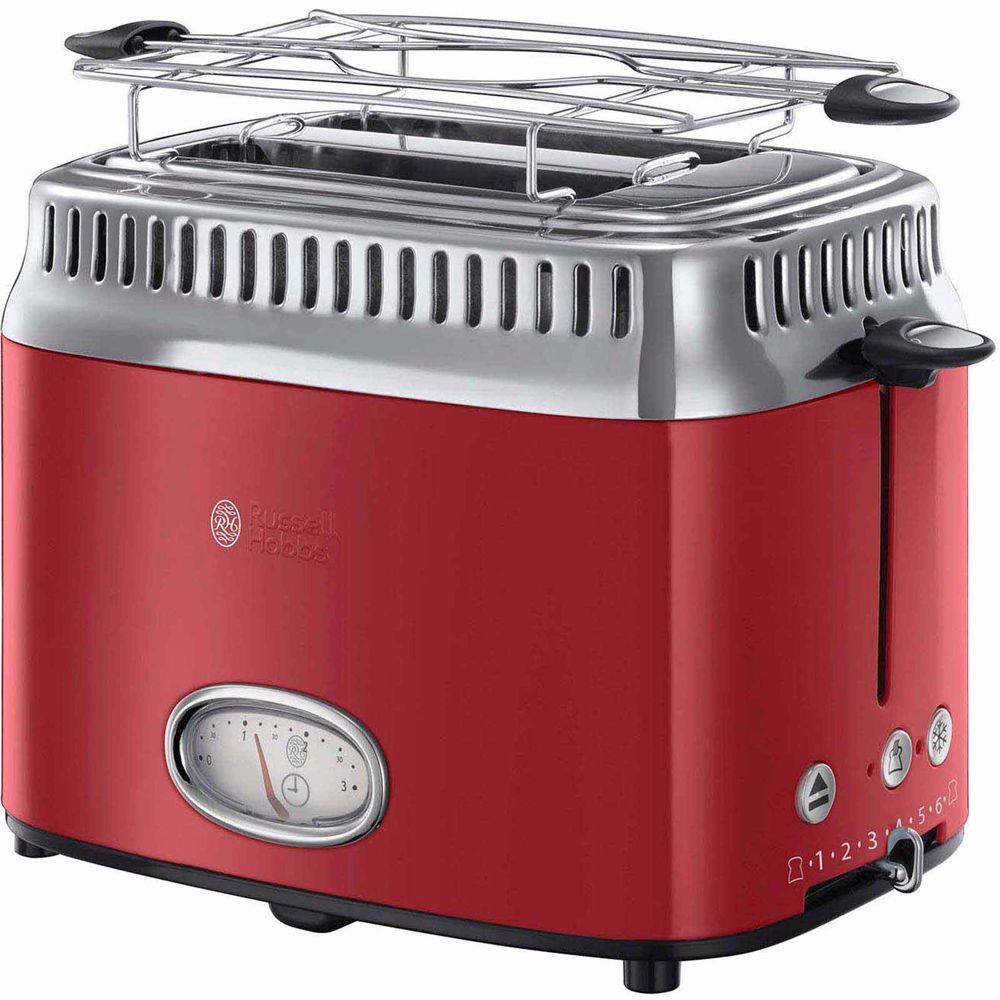 Russell Hobbs broodrooster 21680-56 Retro Ribbon (Rood)