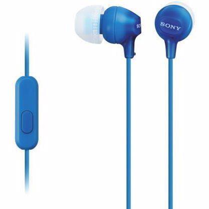Sony in-ear hoofdtelefoon MDREX15AP (Blauw)