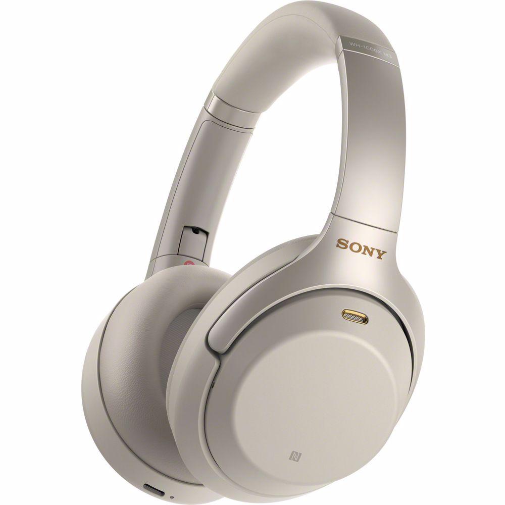Sony draadloze hoofdtelefoon WH1000XM3S (Zilver)
