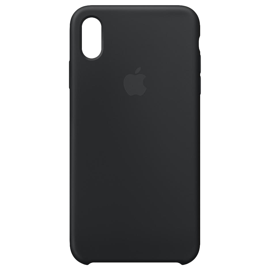Apple telefoonhoesje iPhone XS Max Silicone Case Black