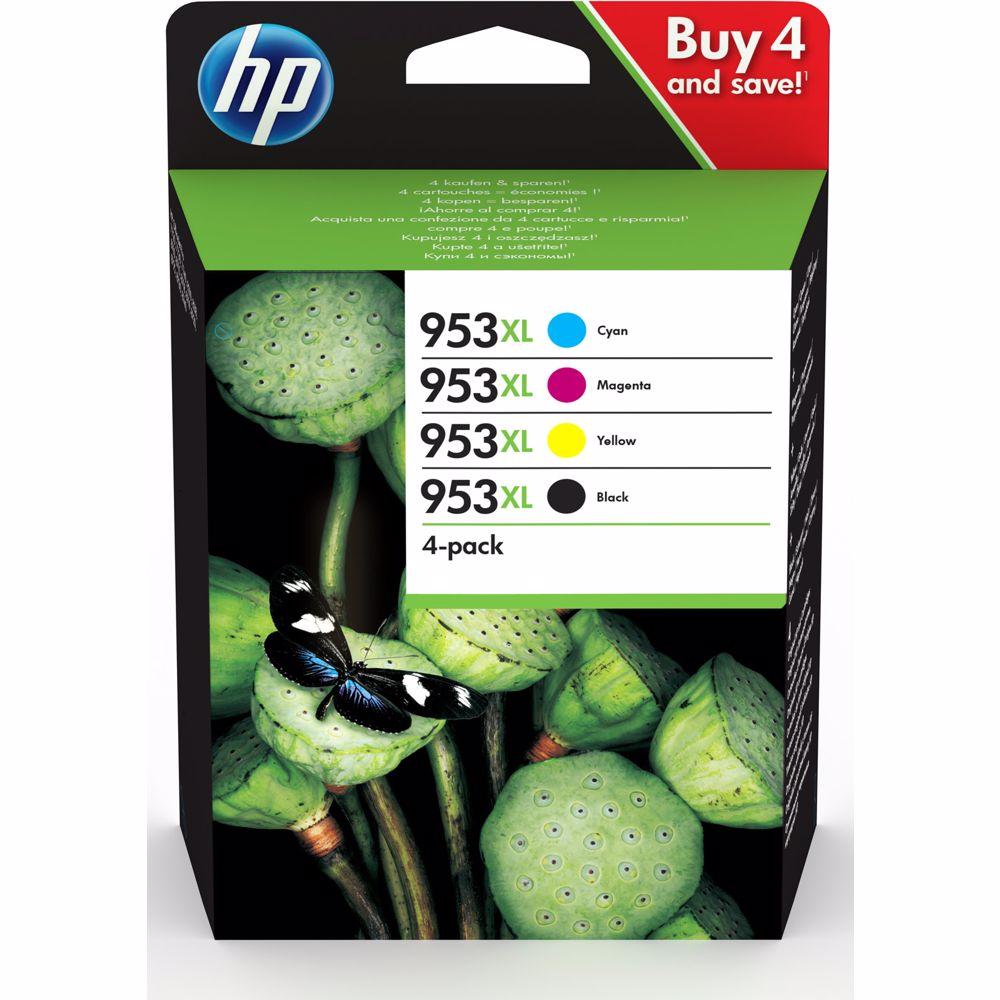 HP cartridge 953 multi-pack (zwart + kleur)