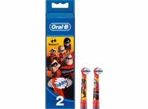 Oral-B opzetborstels Kids The Incredibles (2 stuks)