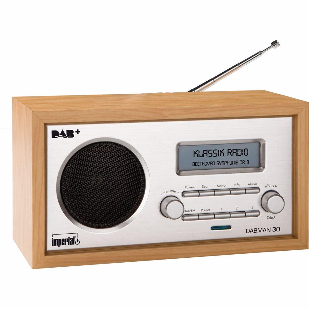 Imperial DAB radio DABMAN 30 (Hout)