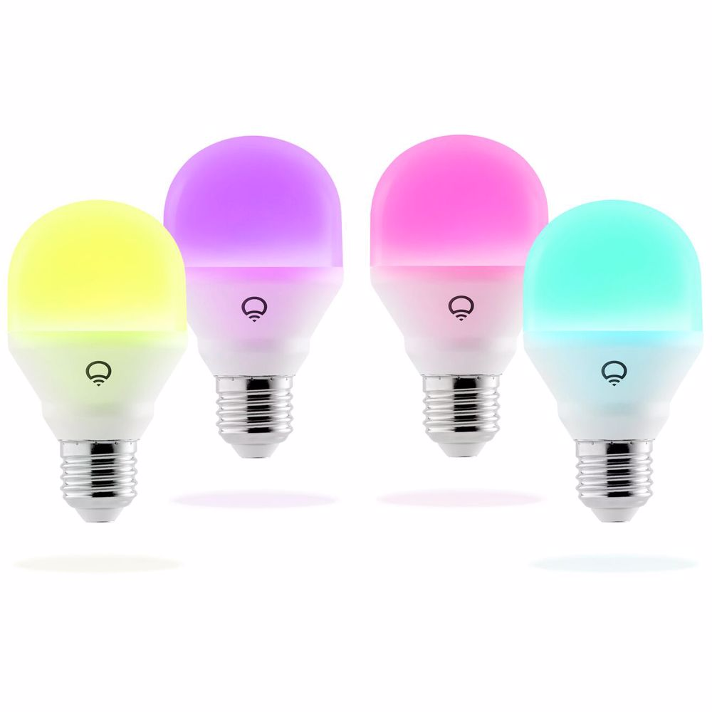 LIFX Mini Colour & White E27 4-pack