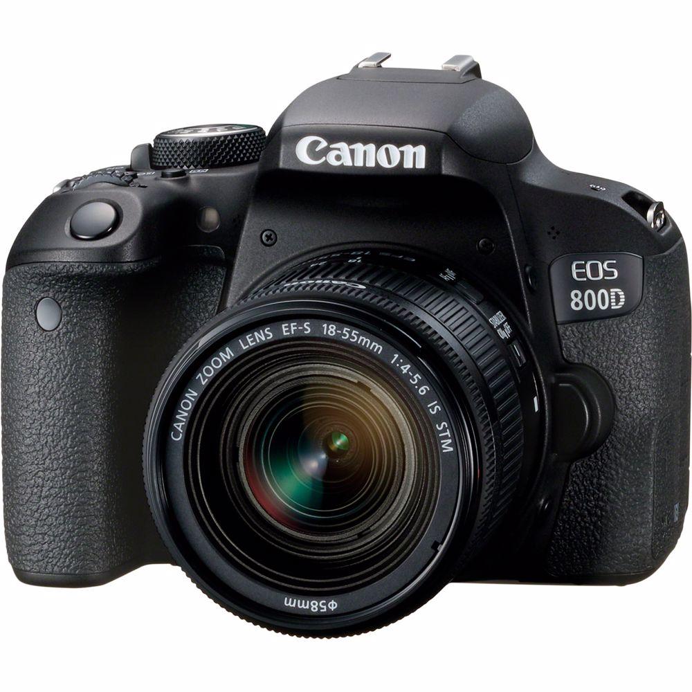 Canon spiegelreflexcamera EOS800D+EF-S 18-55 IS STM CP