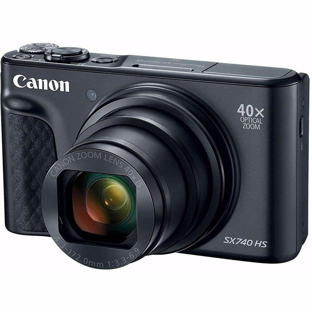 Canon compact camera Powershot SX 740 HS (Zwart)