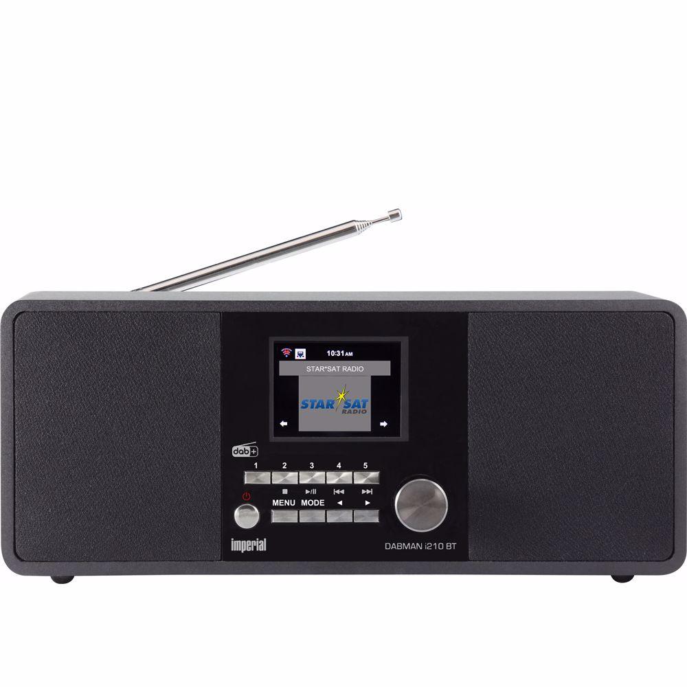 Imperial DAB radio DABMAN i210 (Zwart)