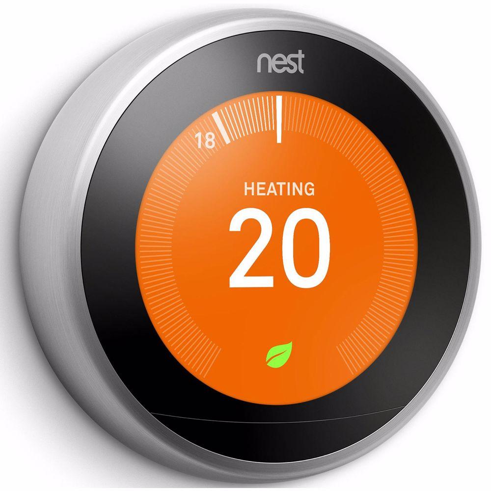 Nest Thermostat 3rd Gen (Zilver)