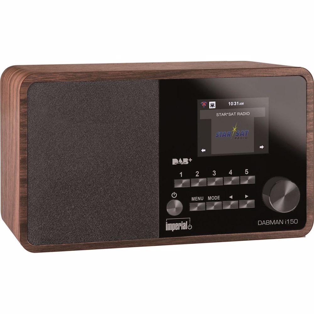Imperial DAB radio DABMAN I150 (Hout)