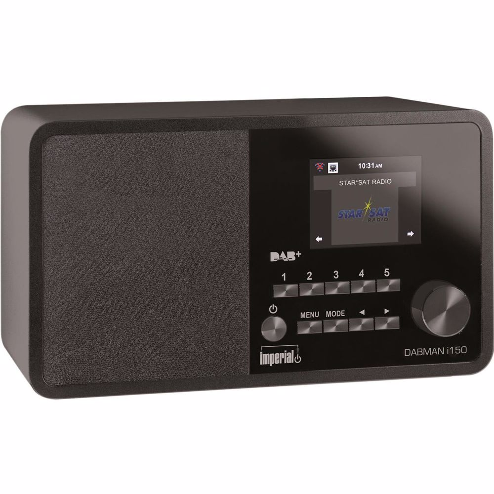 Imperial DAB radio DABMAN I150 (Zwart)